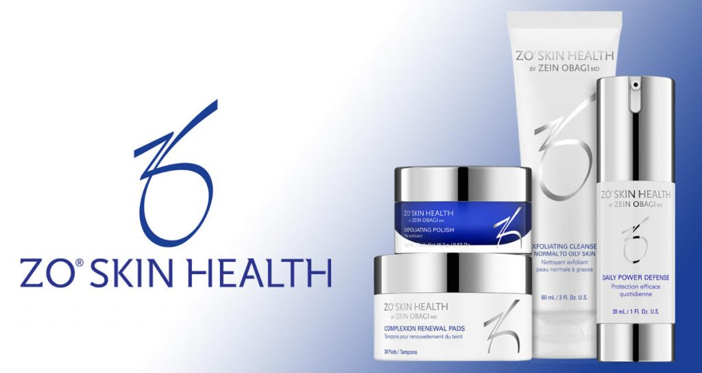 an example of zo skin health products