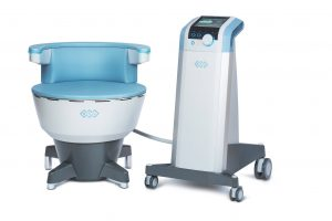 an EMSELLA machine for treating incontinence at our office in Newton